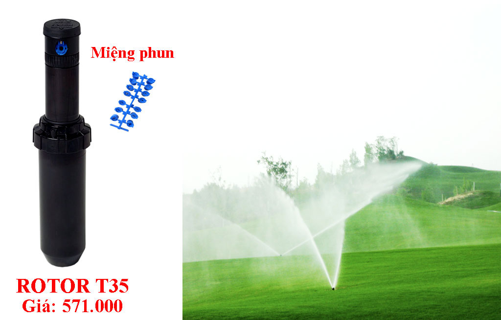 POP-UP TƯỚI CỎ ROTOR T35/T35SS